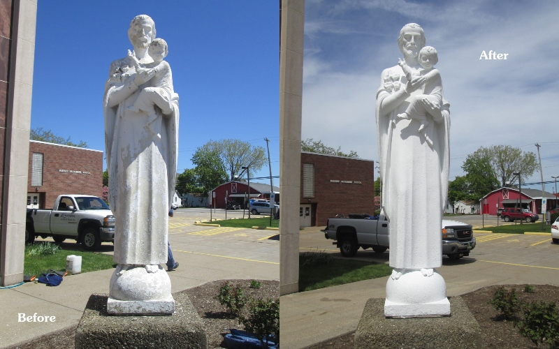 before after statue